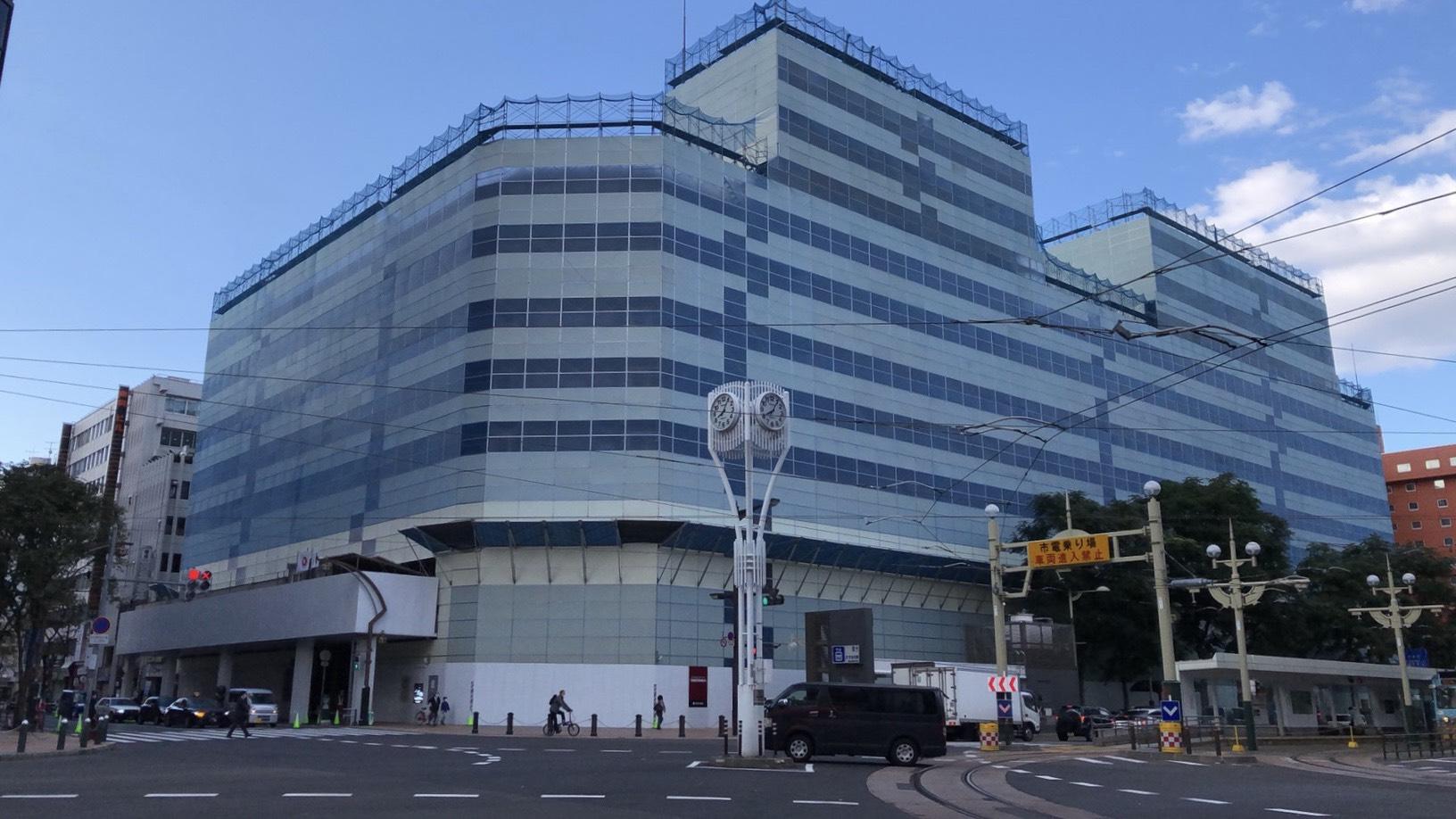 (仮称)ススキノ十字街ビル解体工事